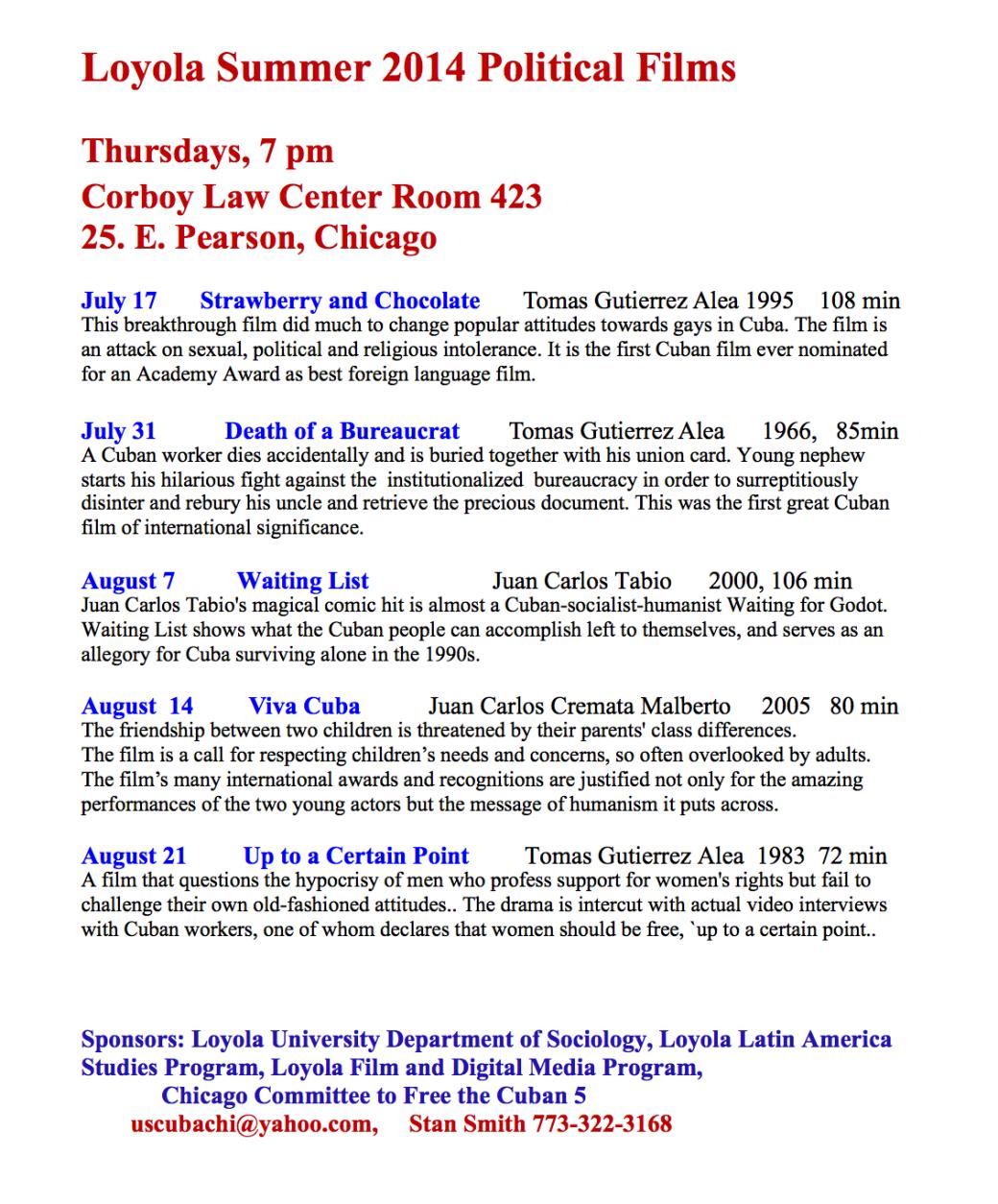 Loyola Summer 2014 Political Films.png