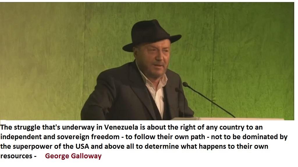George Galloway Venezuela
