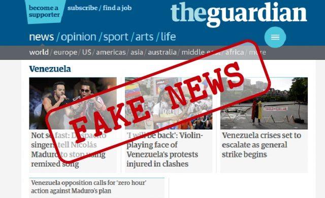 Venezuela fake news