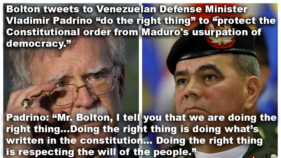 Bolton and Padrino words