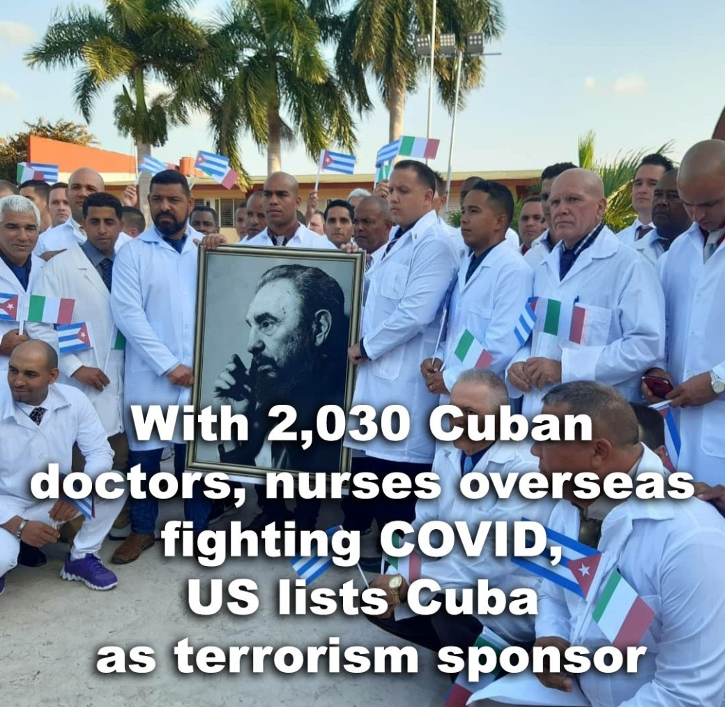 cuban doctors fight corona virus3